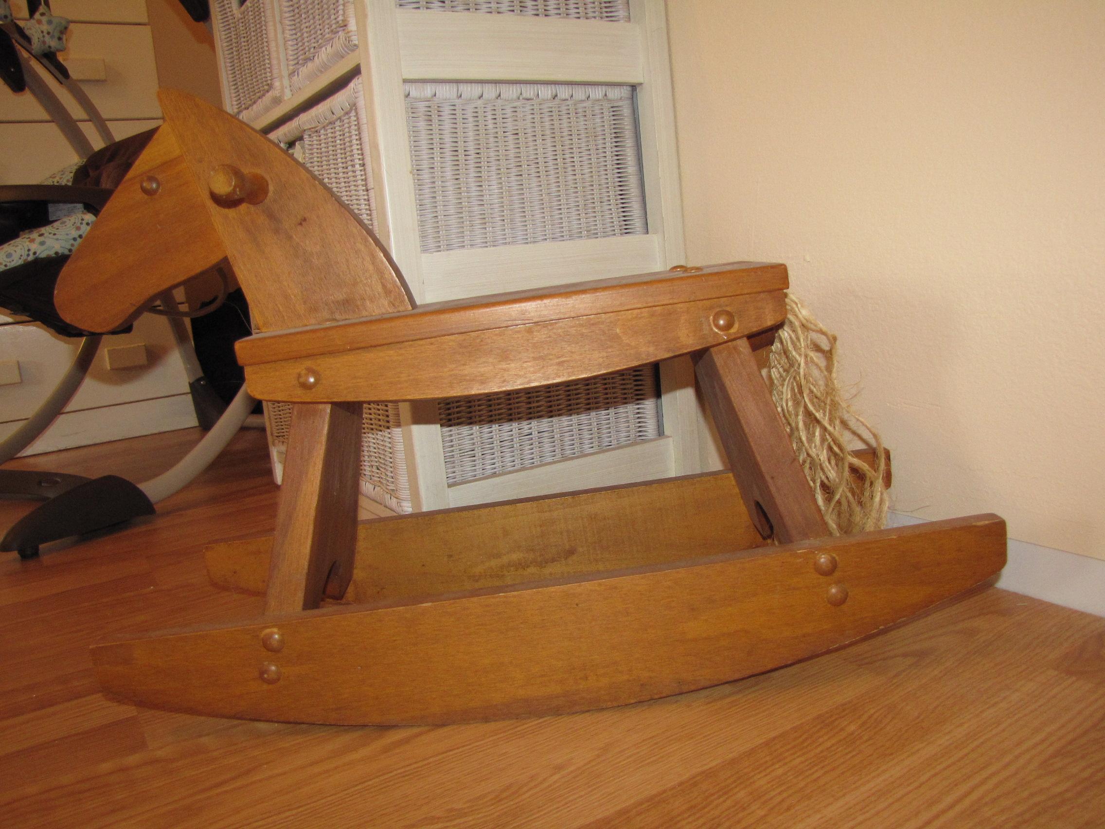 DIY High Chair Rocking Horse Desk Plans Wooden PDF garage storage