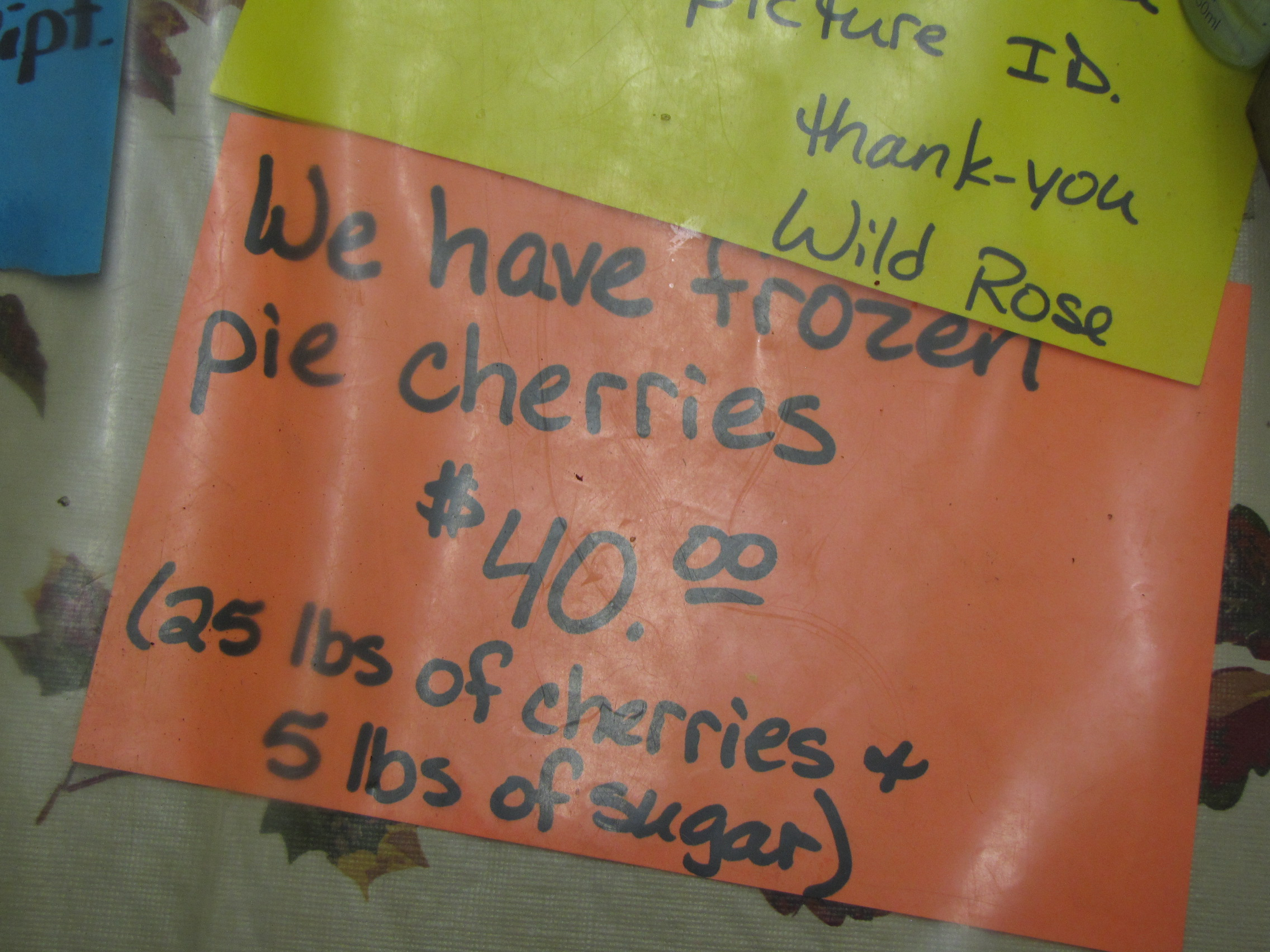 In their freezers, the Wild Rose also stocks local huckleberries and ...